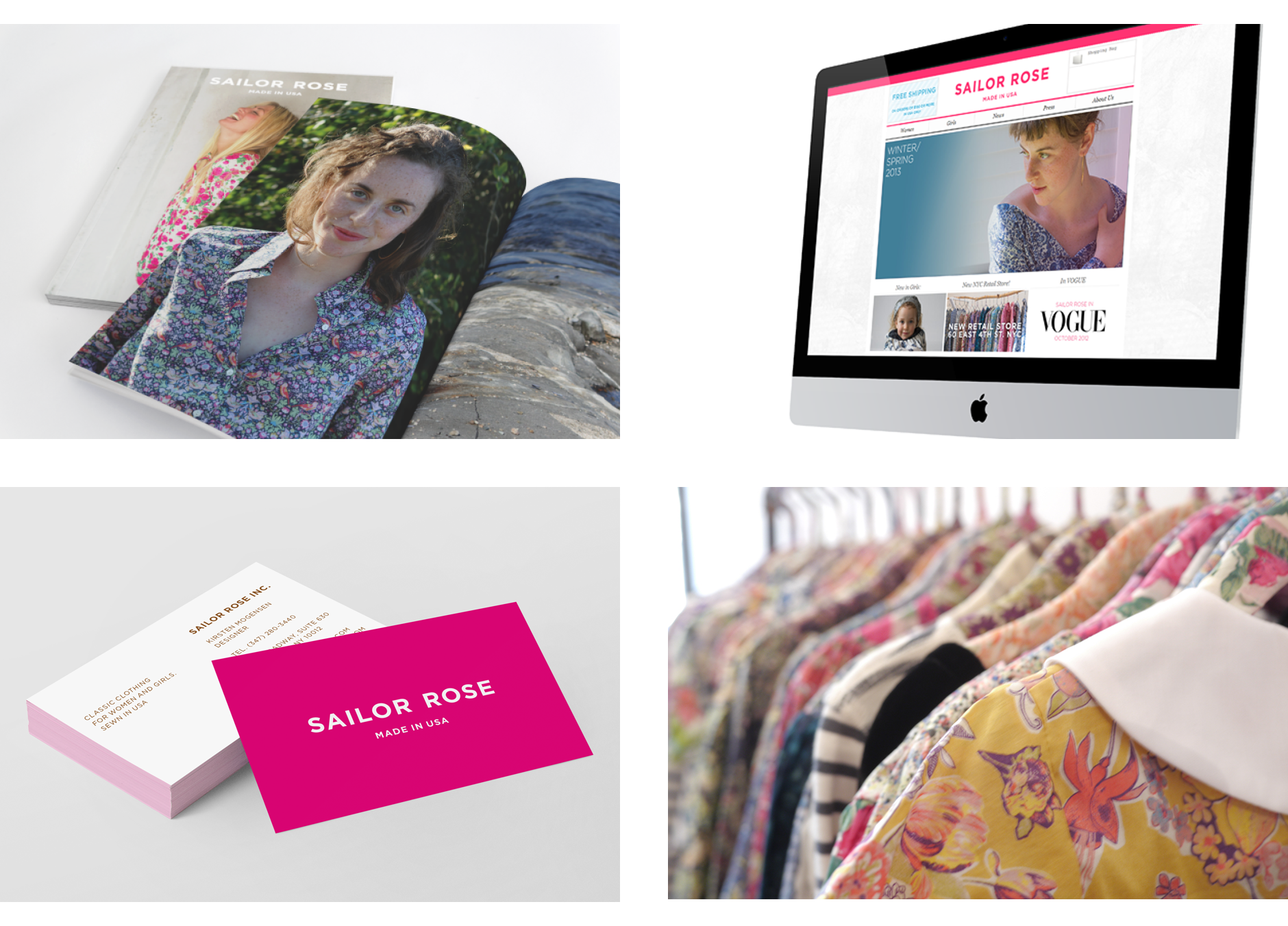 sailorrose website design